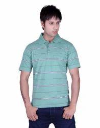 Polo Neck Half Sleeve Mens Collar T Shirts