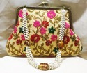 Designer Embroidered Clutch Potli