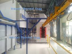 Vibrant Overhead Conveyor Oven, Model: VTE009