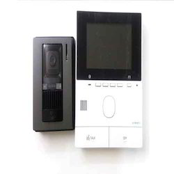 Plastic Black Panasonic Video Door Phone VL-SVN511SX, For Security