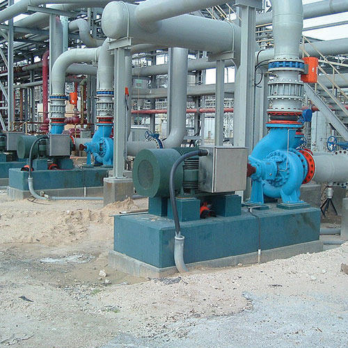 Rotating Equipment Pump Foundation Design Service Pump