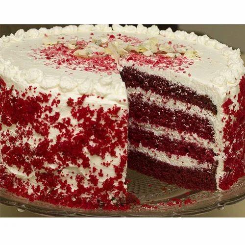 Strawberry Eggless Red Velvet Cake Premixes Rs 180