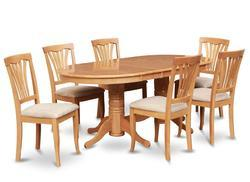 dining table. jofran slater mill pine reclaimed pine round to oval