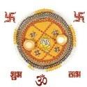 Diwali Pooja Thali N Rangoli Accessories 105