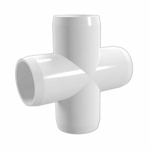 PVC Cross Tee Pipe Polyvinyl Chloride