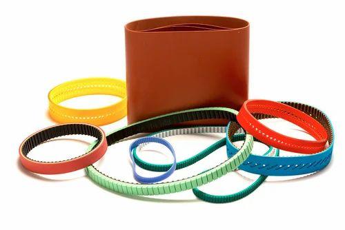 PU Timing Belt, PU Toothed Belt, Polyurethane Timing Belt, पीयू टाइमिंग  बेल्ट in Gandhinagar, Bhilwara , Jinendra Enterprises | ID: 10716345930