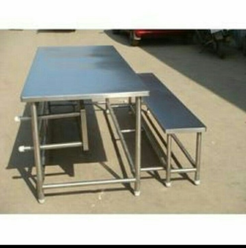 Tremendous Canteen Table Ss Canteen Table With Bench Manufacturer Ocoug Best Dining Table And Chair Ideas Images Ocougorg