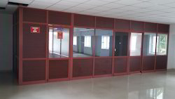 Powder Coated Full Height Partitions