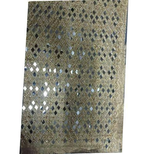 Hand Work All-Over Fabric Lace, Packaging Type: Roll