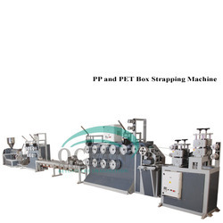 PP and PET Box Strapping Machine