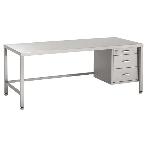 Stainless Steel Work Table With Drawer Sag Engineering Products - Stainless steel work table with drawers