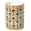 Stone Work Marble Pen Stand MB036