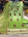 Semi Stich Fabricated Ladies Suits