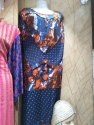 Silk Thread Embroidery Suit Materiel