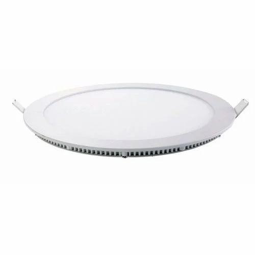 ceiling lamp round flat led panel light shiva lights ahmedabad id. Black Bedroom Furniture Sets. Home Design Ideas