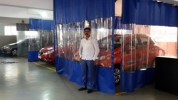 Paint Booth Curtains, Automation Grade: Manual