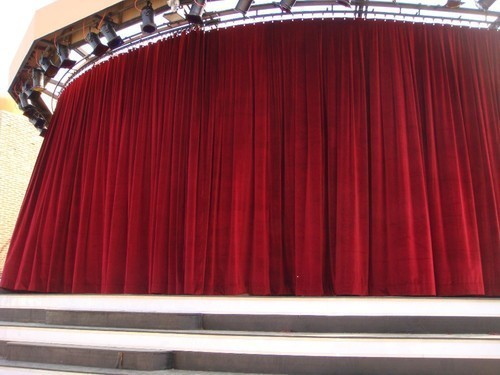 Auditorium Motorized Stage Curtains - Auditorium Motorized Round ...