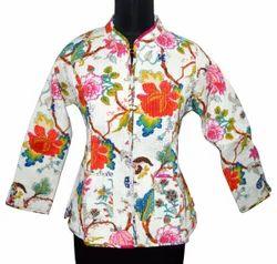Ladies Printed Quilted Jackets