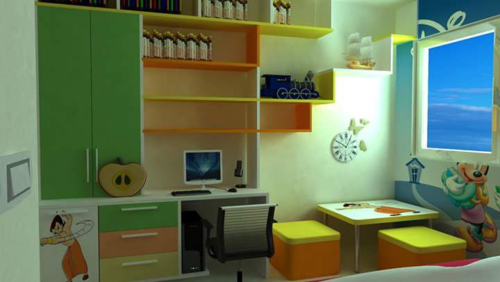 Stylish Kids Room Designing Services At Rs 50 Square Feet Children Bedroom Design Baby Room Designing Kids Room Designing Children Bedroom Designing बच च क कमर क इ ट र यर Kids Room Designing Services