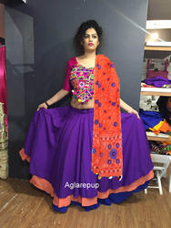 Indian Skirt Banjara Skirt Embroidered Lehenga Choli At Rs 1200