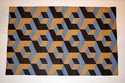 Cotton Geometrical Punja Weave Rug