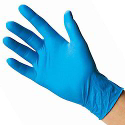 Rubber Nitrile Examination Gloves for Surgical