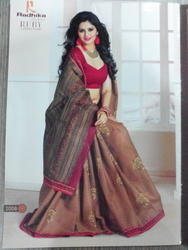 Saree Embroidery Works In India