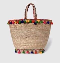Jute Brided Bag