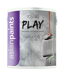 High Sheen Water Based Paint Asian Paints Royale Play Stucco, Packaging Type: Can, Packaging Size: 1 And 5 Kg