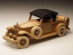Wooden Model Cars
