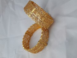 d0706fb4a6cb0 1 Gram Gold Plated Bangles