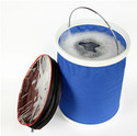 Car Wash Outdoor Fishing Folding Collapsible Bucket Foldable