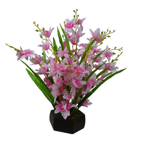 artificial flower pots india at rs 345 /piece | kritim phool bushes