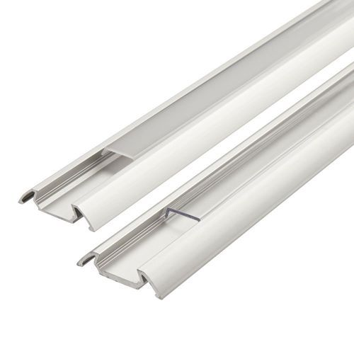 1x 5x 10x Lustreon 50cm Aluminum Channel Holder For Led: Led Strip Light Channel Plastic India