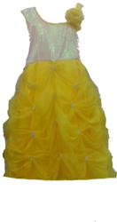 Yellow Ball Kids Gown