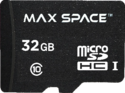 Maxspace 32 Gb Sdhc Memory Card With Adapter