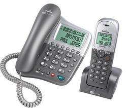Corded and DECT Cordless Combo Phone