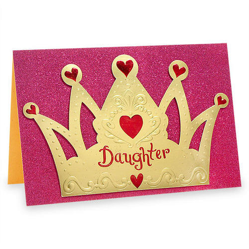 Princess Crown Birthday Card At Rs 70