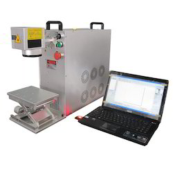 Fiber Metal Marking Machine