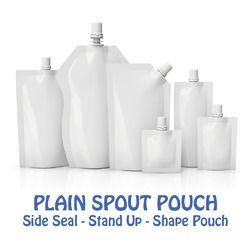 Plain Spout Pouch