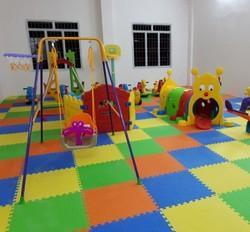 Rubber Flooring Kids Area