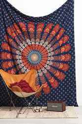 Large Indian Tapestry Mandala Wall Hanging Hippie Dorm Decor