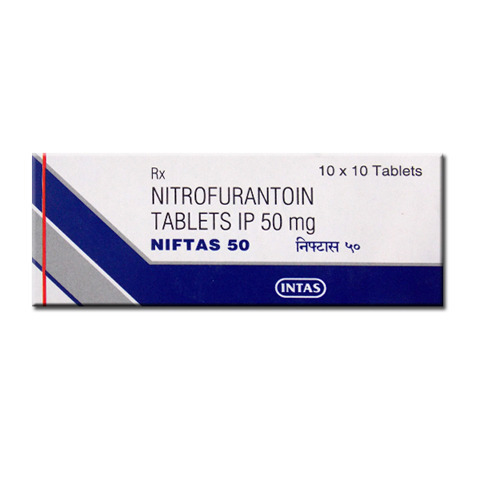 Niftas 100 Mg Tablet Nitrofurantoin Tablets, Prescription, Treatment:  Urinary Tract Infection, Rs 31 /pack | ID: 13450166212