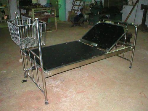 Cradle Bed - SS Hospital Bed Cradle Manufacturer from Vadodara