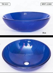 Round Glass Bowl Basin