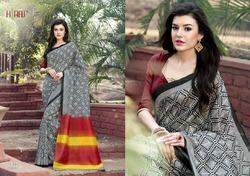 Colored Designer Saree