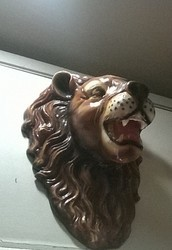 Hanging Wall Art - Lion Head