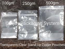Stand Up Zipper Pouches -500gm