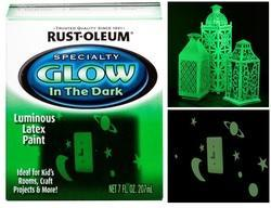 Rust Oleum Night Glow Paint In The Dark Paint - Radium Paint