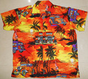 Beach Hawaiian Printed Shirt Collection